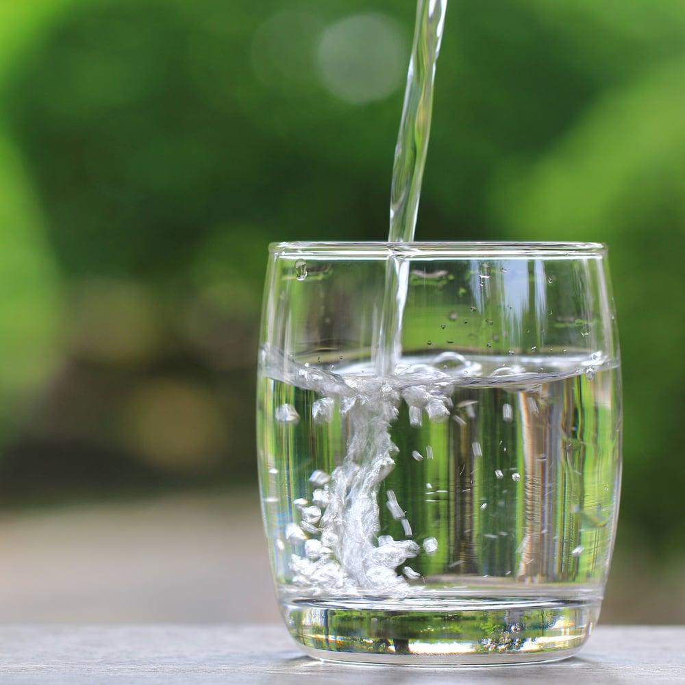 de l'eau grâce au bélier hydraulique