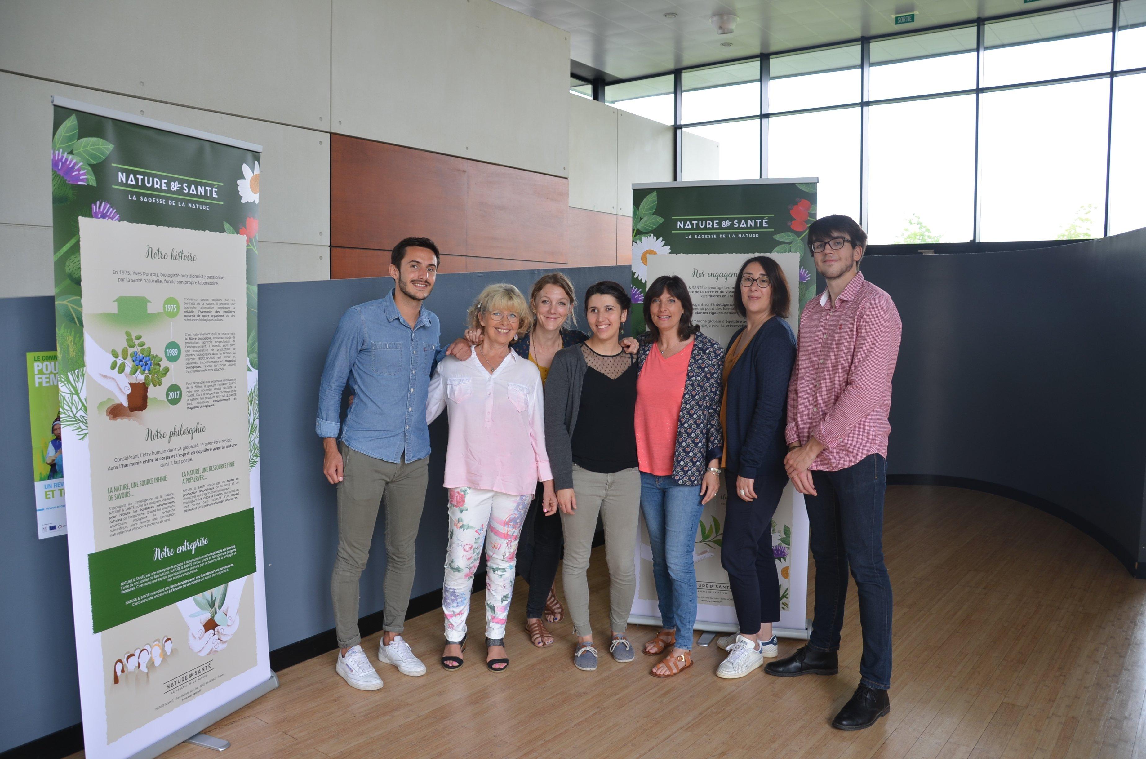 l'équipe Nature&Santé 2018